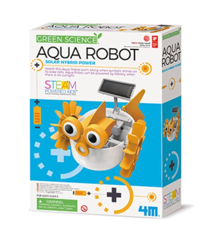 Embalagem do Robô aquático montado