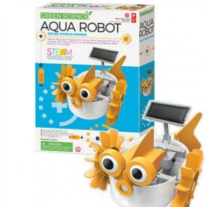 Embalagem mais Robô aquático montado