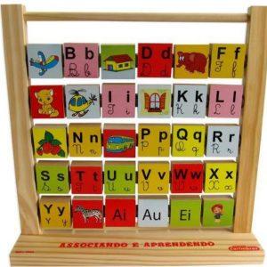 Jogo de Alfabetização Associando e Aprendendo