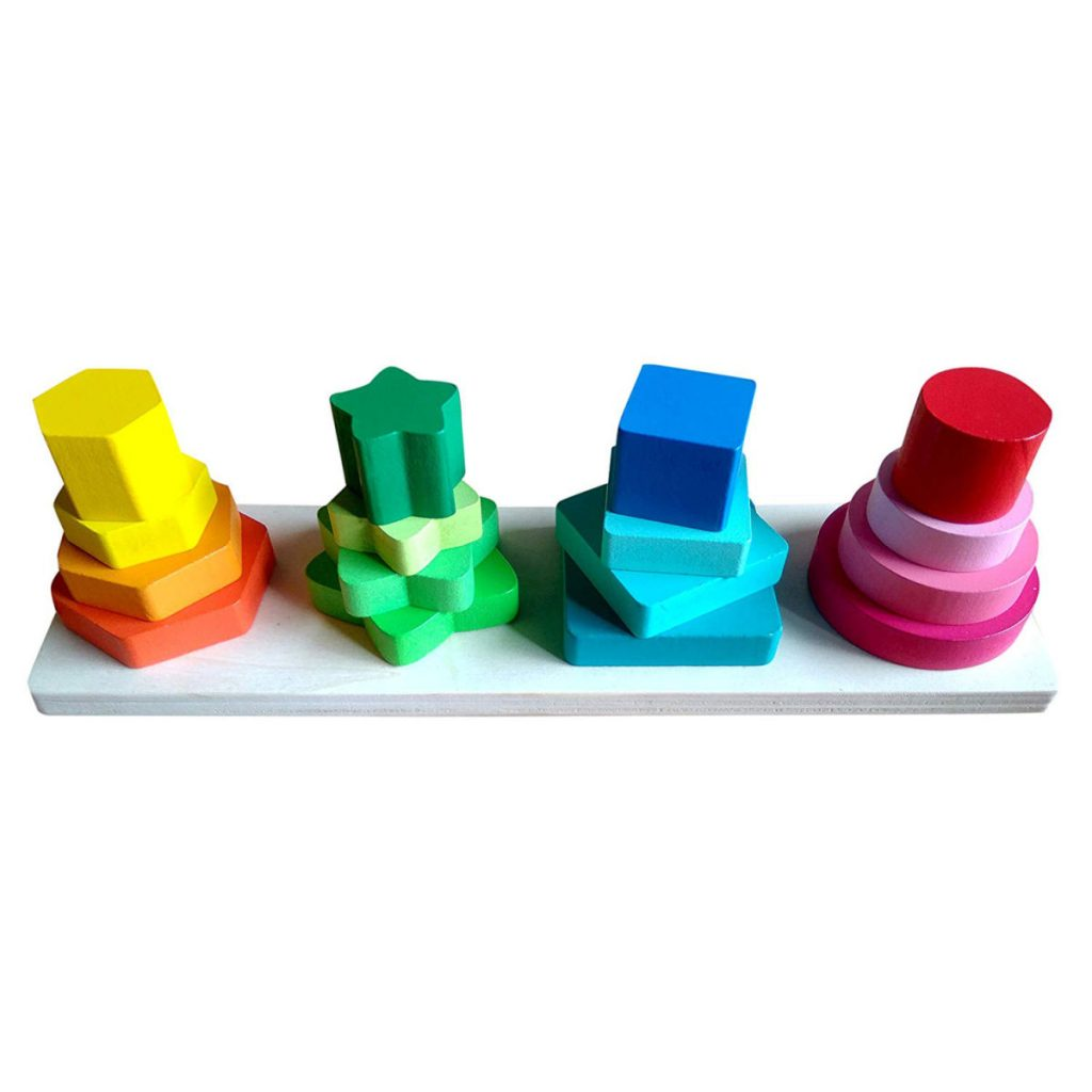 Base de formas geométricas por cima