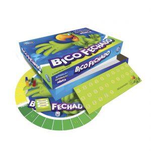 embalagem e itens do jogo bico fechado