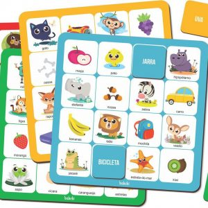Conteúdo do Jogo bingo das palavras
