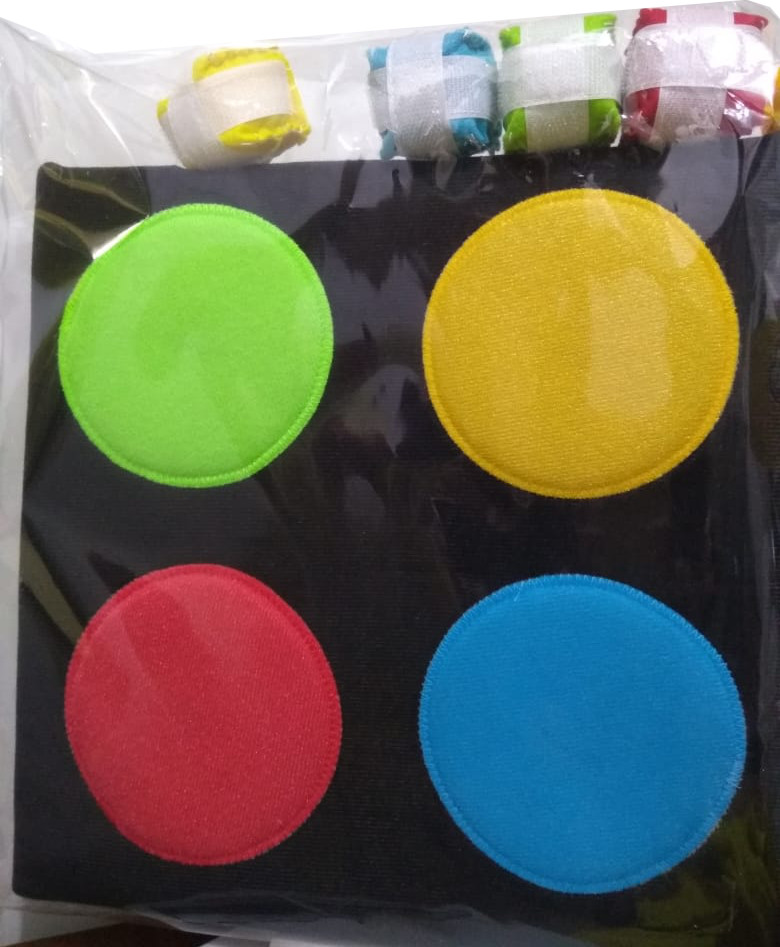 Embalagem Bola ao alvo 4 cores