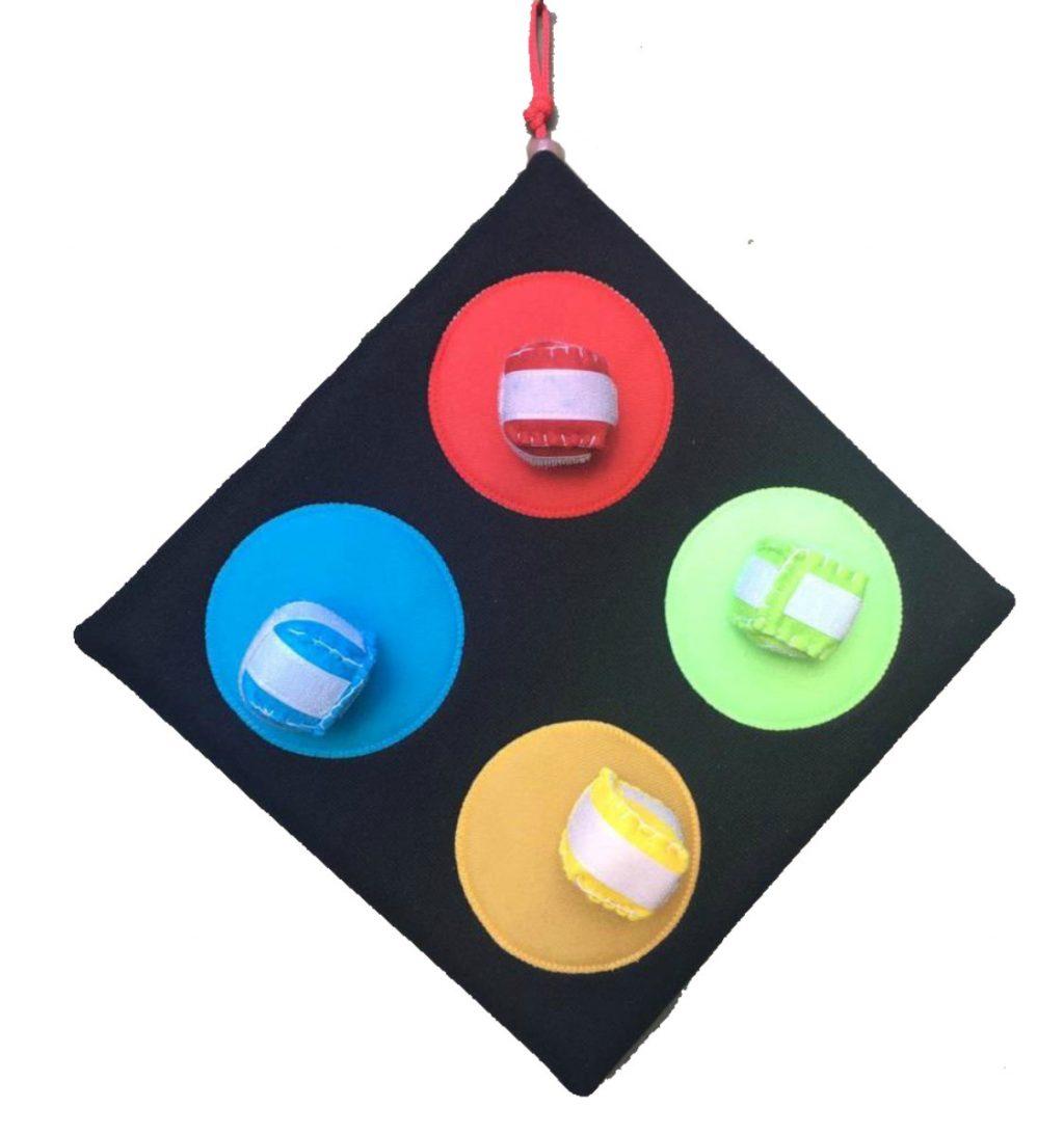 Bola ao alvo 4 cores