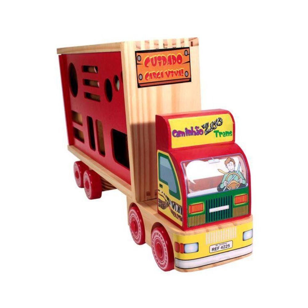 caminhão zootrans de frente