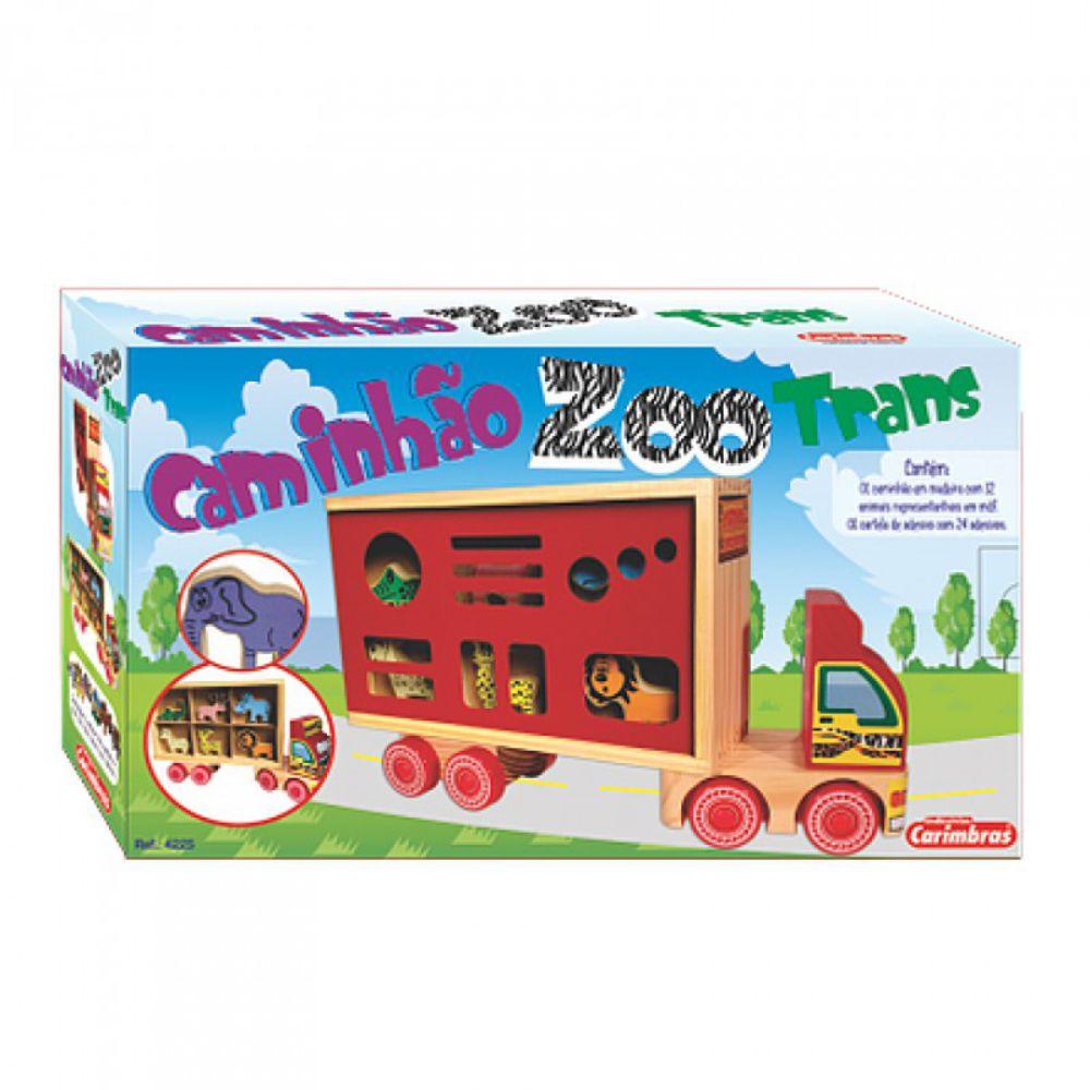 embalagem do caminhão zootrans