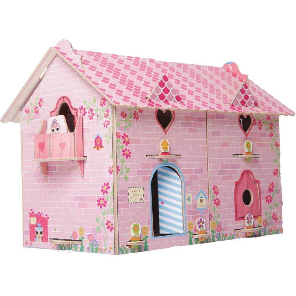 Casa divertida doll montada