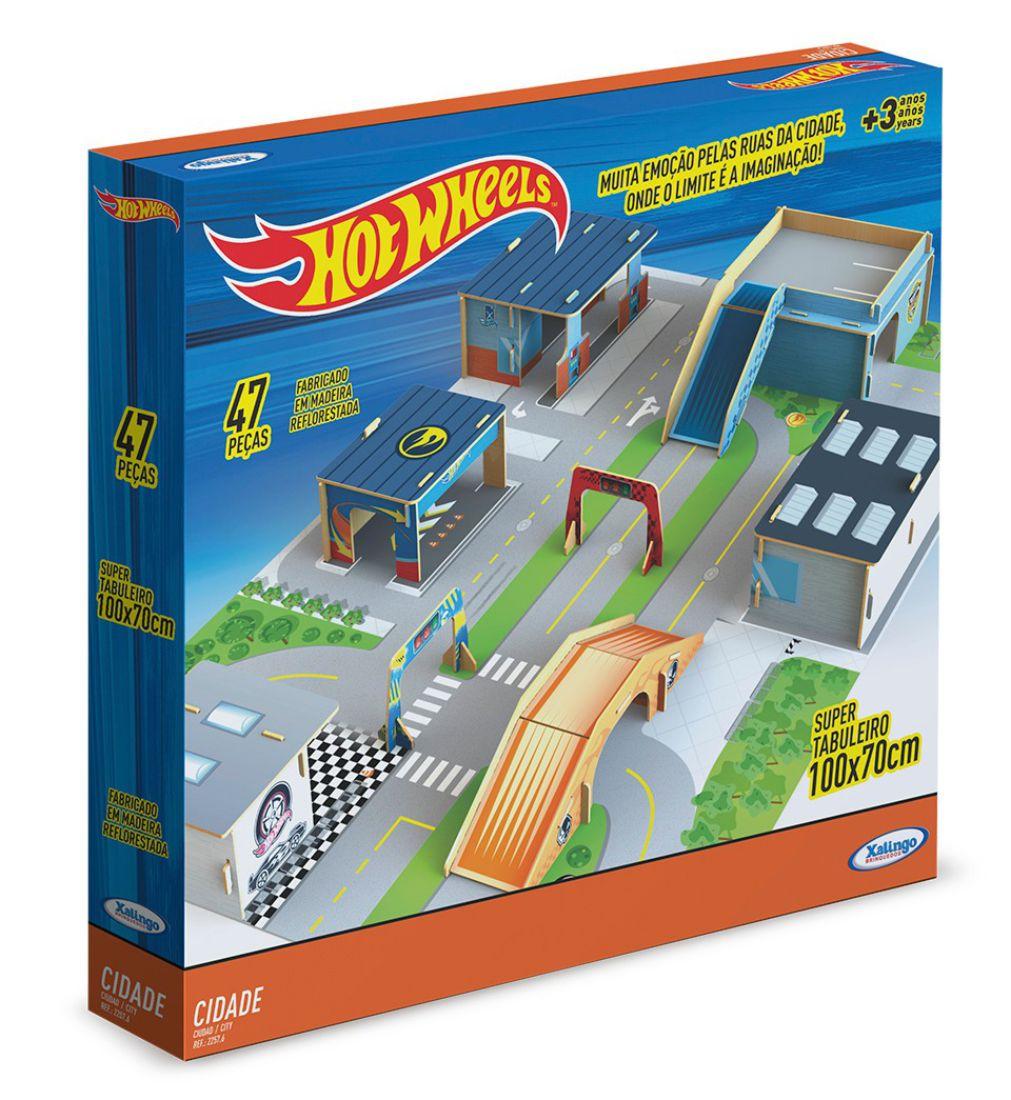 Caixa da Cidade Hot Wheels