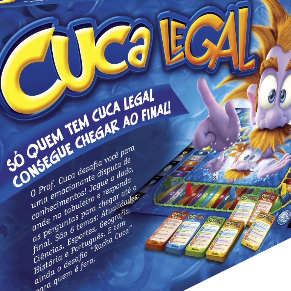 Jogo de tabuleiro cuca legal