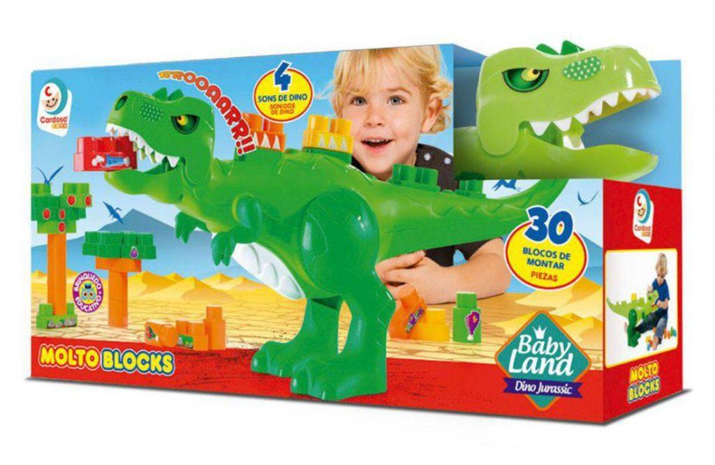 Embalagem do Dino jurássico