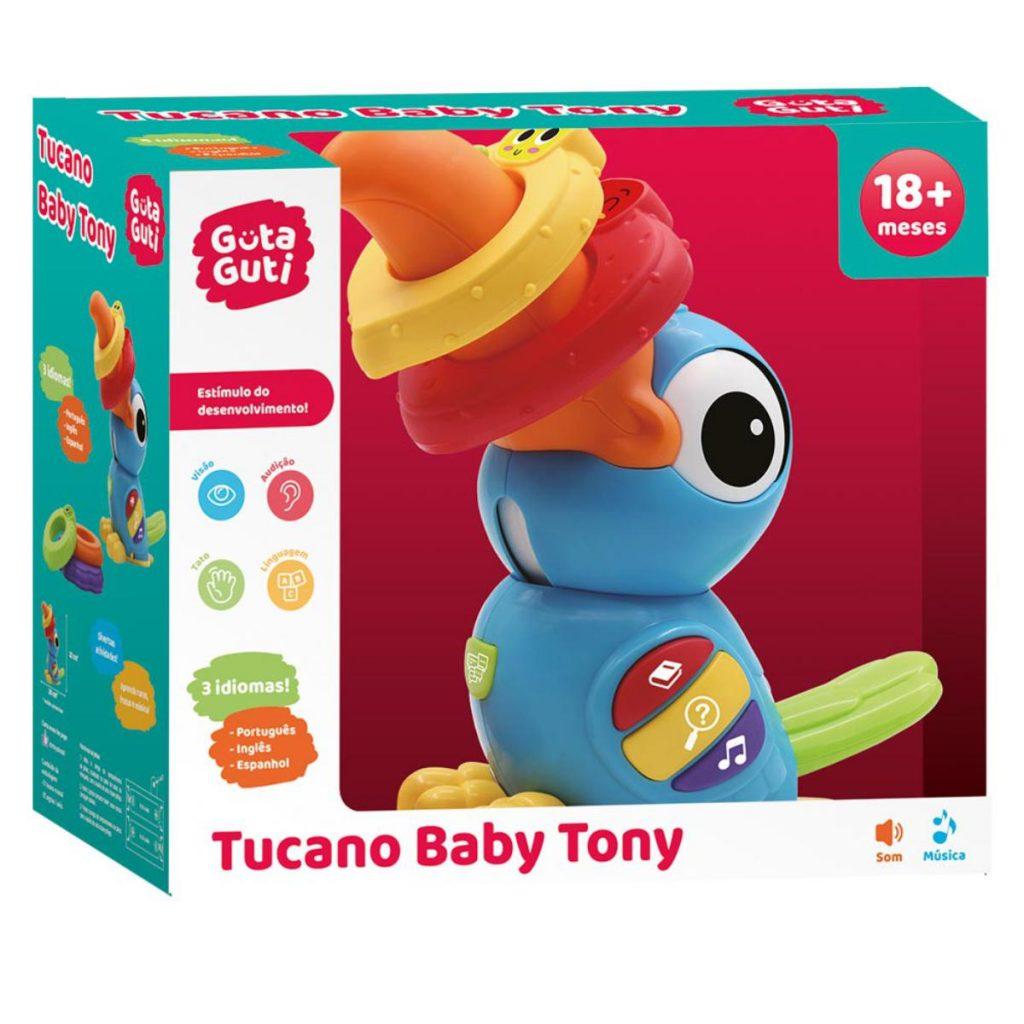 Embalagem do tucano baby tony