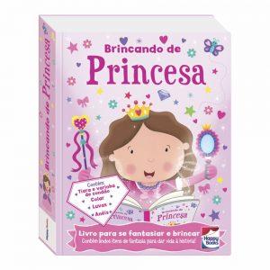 Livro fazendo a festa brincando de princesa