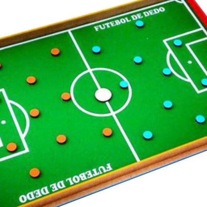 brinquedo educativo futebol de dedo