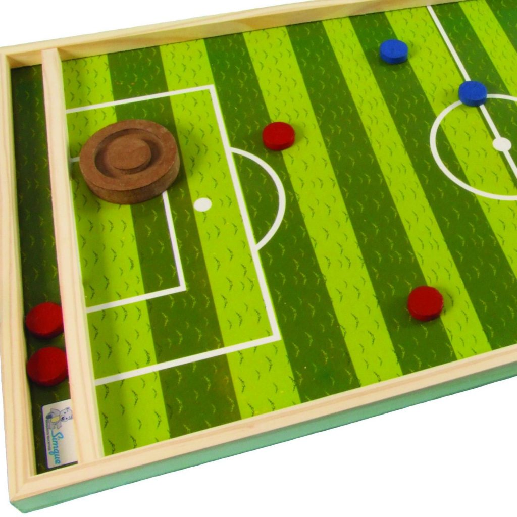 Jogo gol a gol de madeira