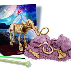 Peças do kit de escavação de mamute