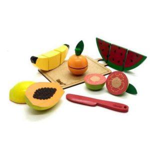 kit frutinhas com 7 peças