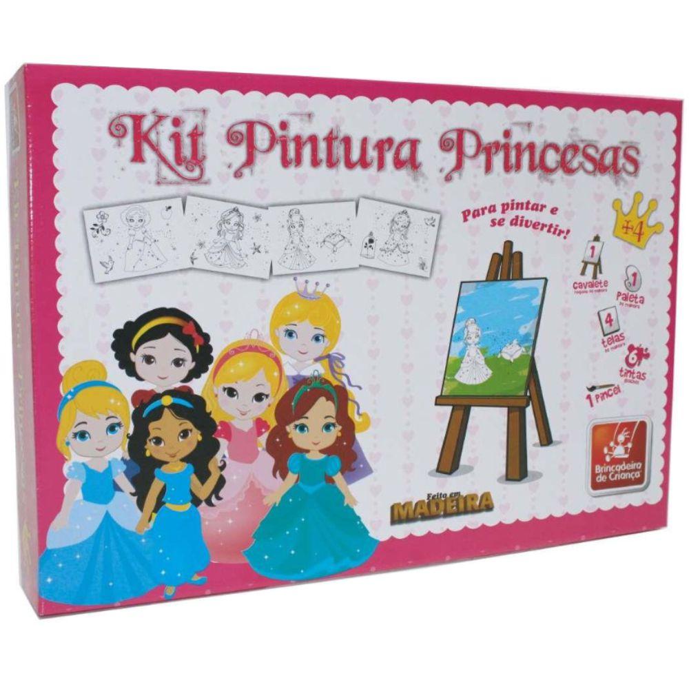 Embalagem do Kit Pintura Princesas Baby