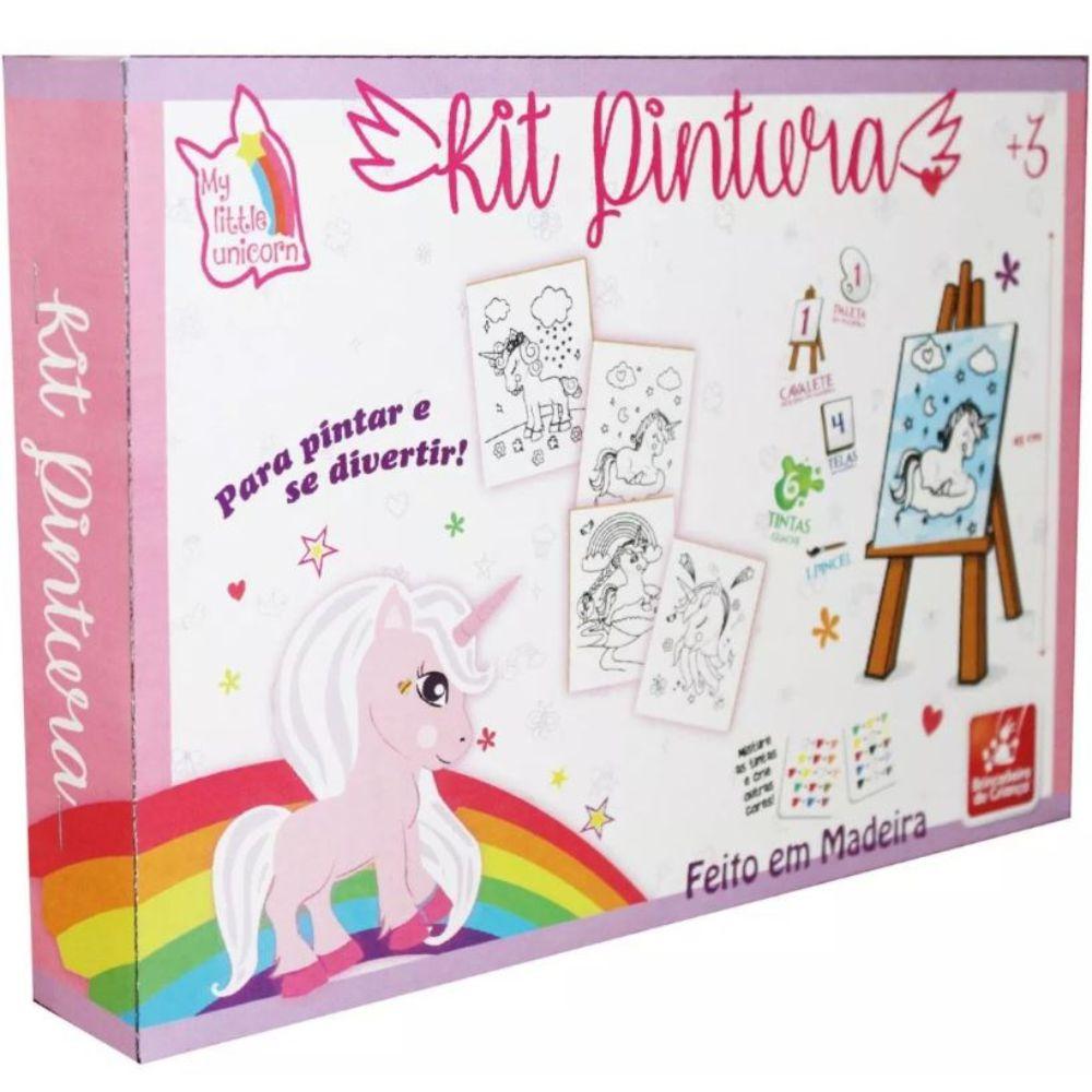 Embalagem do Kit Pintura Unicórnio