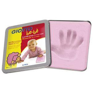 Massa para modelar Lembrança do bebê rosa