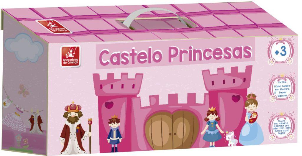 Maleta castelo princesas fechada
