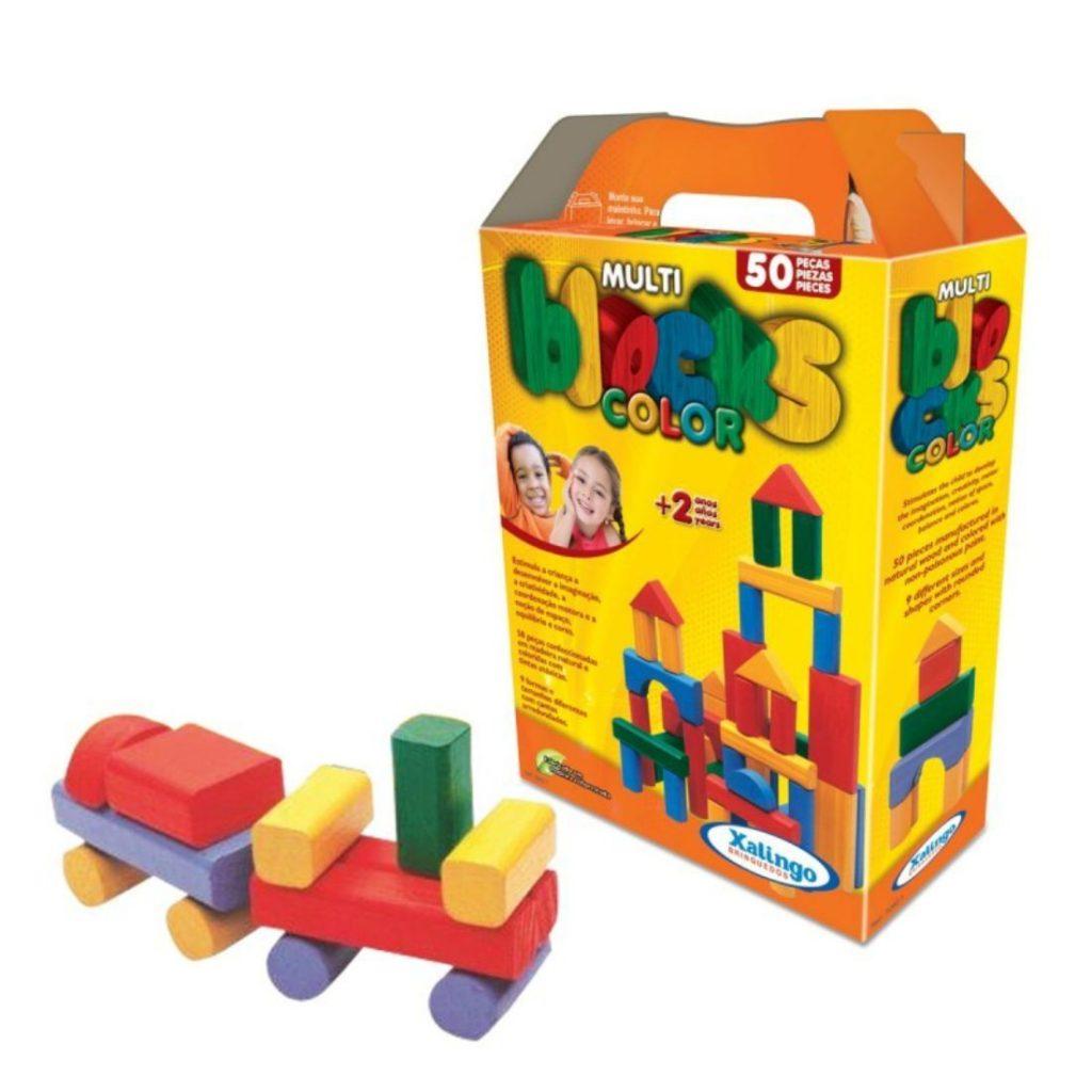Peças e caixa do multi blocks