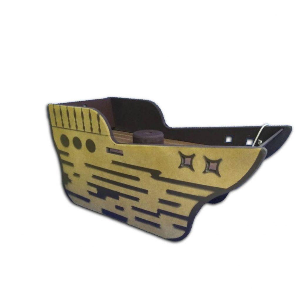 Cenário navio pirata