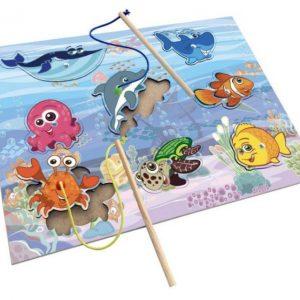 Pescaria divertida 8 animais marinhos