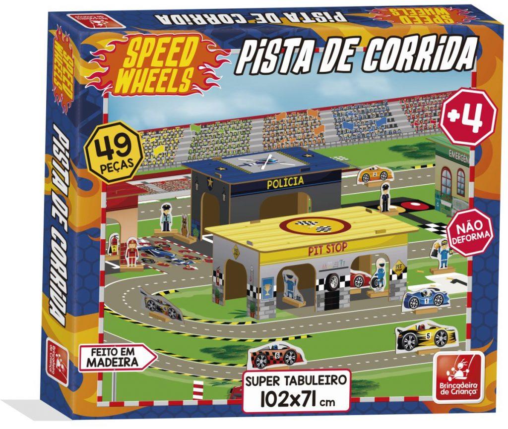 Embalagem da Pista de corrida speed wheels