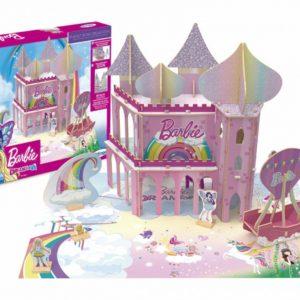 Embalagem e quebra-cabeça 3D reino dreamtopia