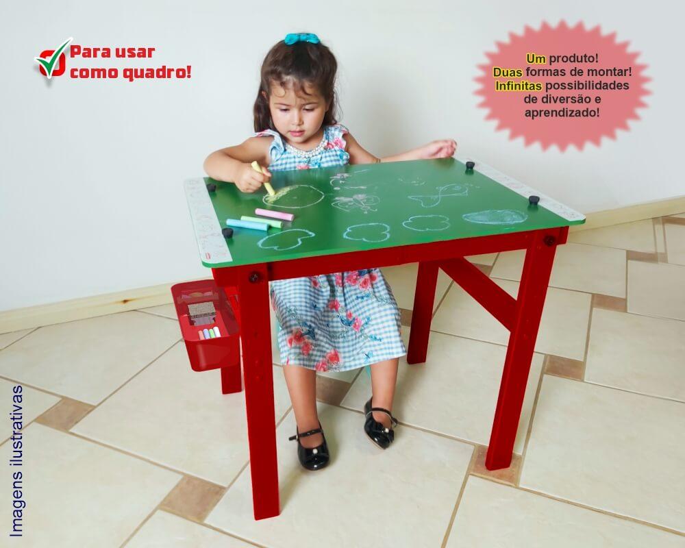 Quadro convertível como mesa