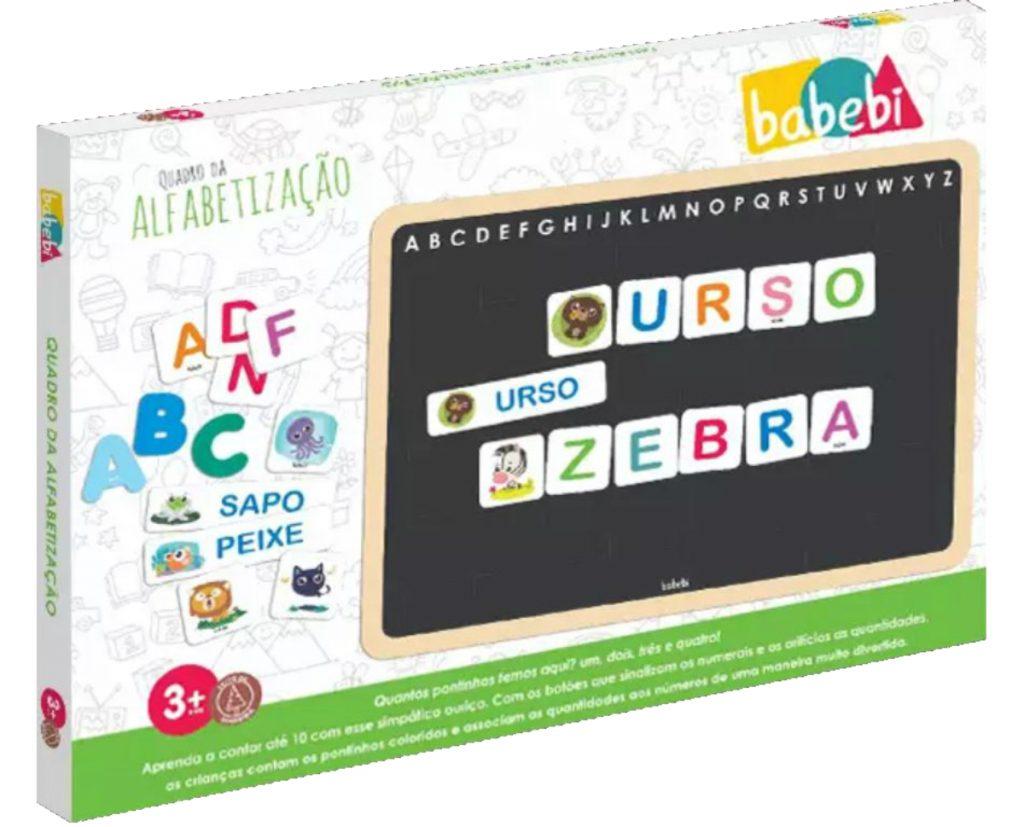 Embalagem do Quadro da alfabetização