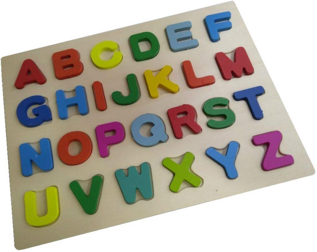Quebra-cabeça do alfabeto