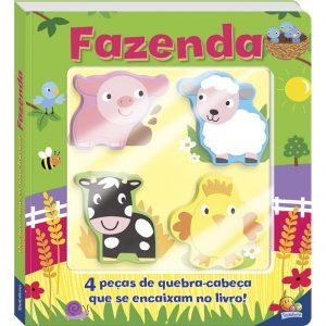 Capa do livro quebra-cabeças touchwood fazenda