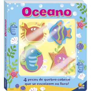 Capa do livro quebra-cabeças touchwood oceano