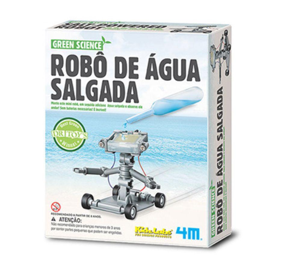 Embalagem do Robô de água salgada