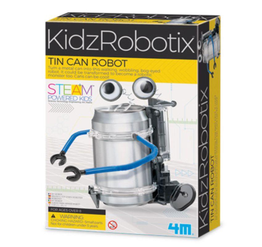 Embalagem do Robô latinha