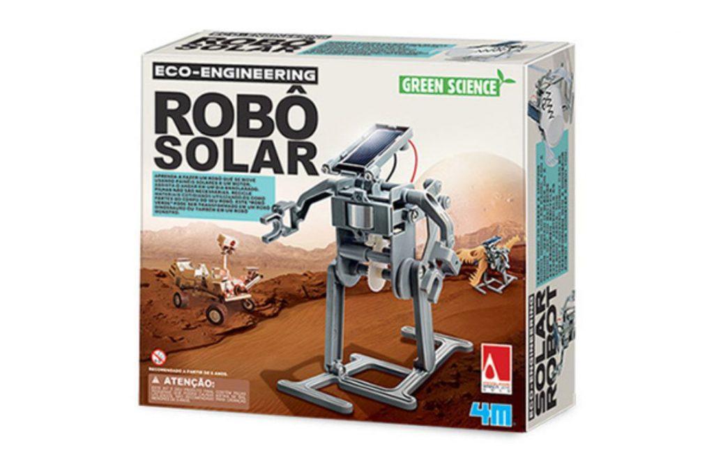 Embalagem do Robô Solar