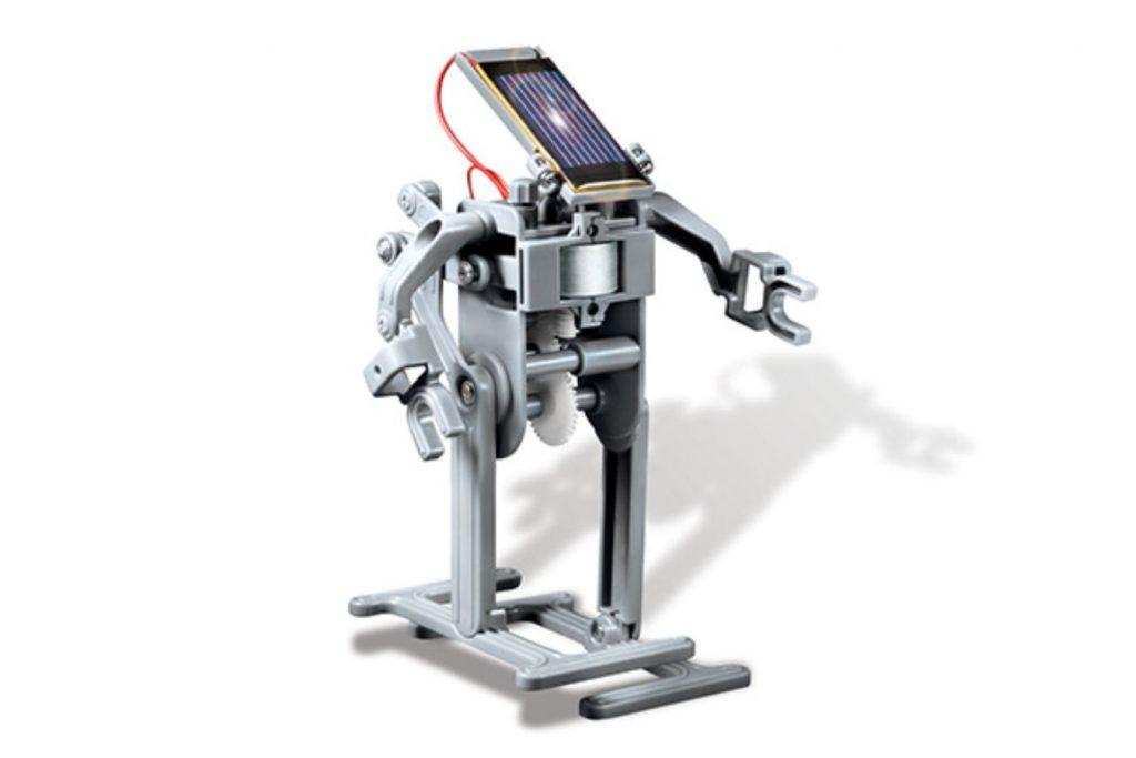 Robô Solar montado