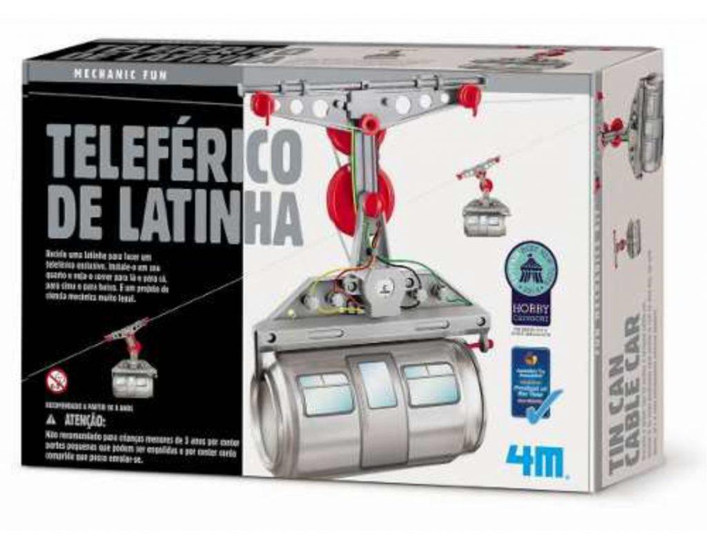 Embalagem do teleférico de latinha
