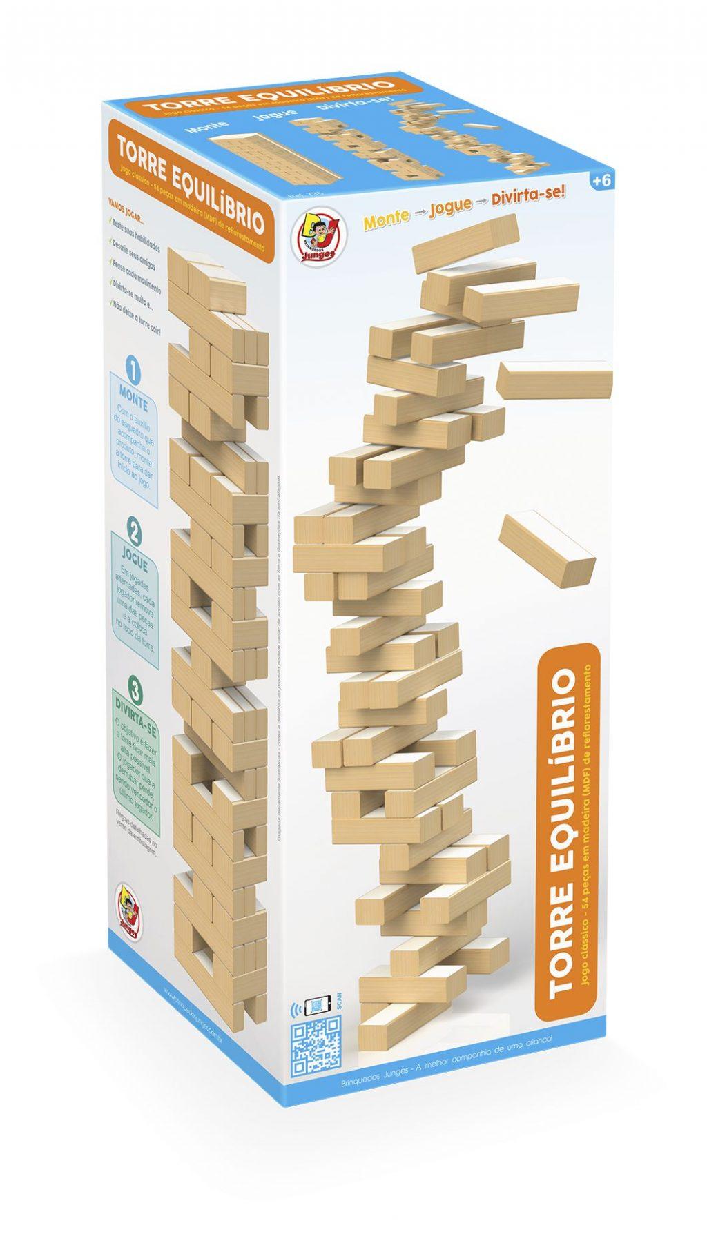 Embalagem Torre de equilíbrio