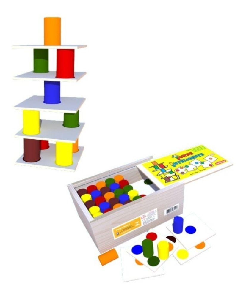 Torre inteligente estojo e peças
