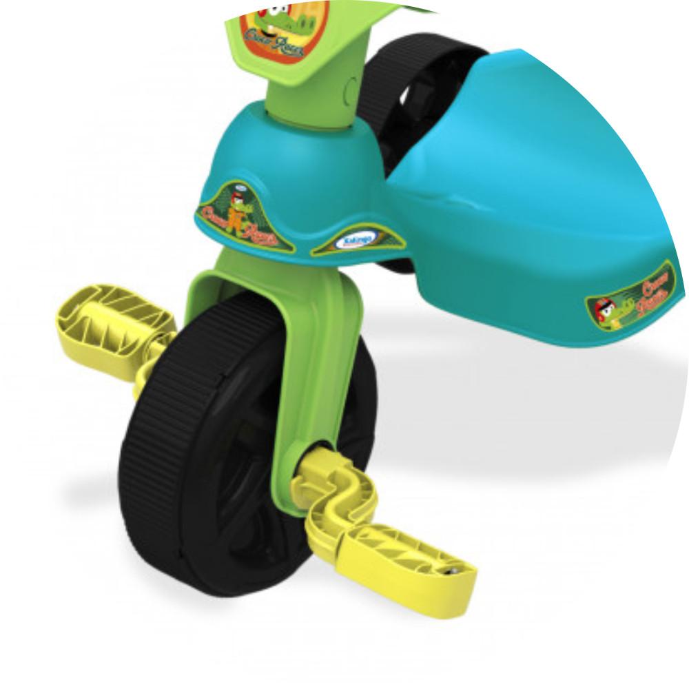 Triciclo croco racer pedais