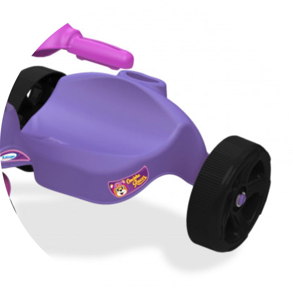 Triciclo oncinha racer acento